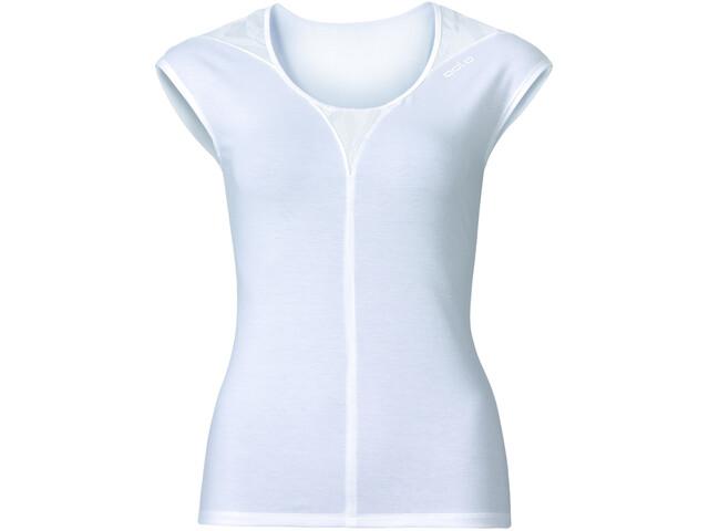 Odlo Revolution TS X-Light Shirt S/S Crew Neck Women snow white melange